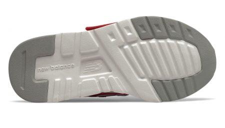 basket pour les touts petits IZ997 rouge fermé par 1 velcro, modèle New balance