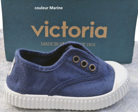 chaussure toile marine enfant unisexe Inglese de Victoria